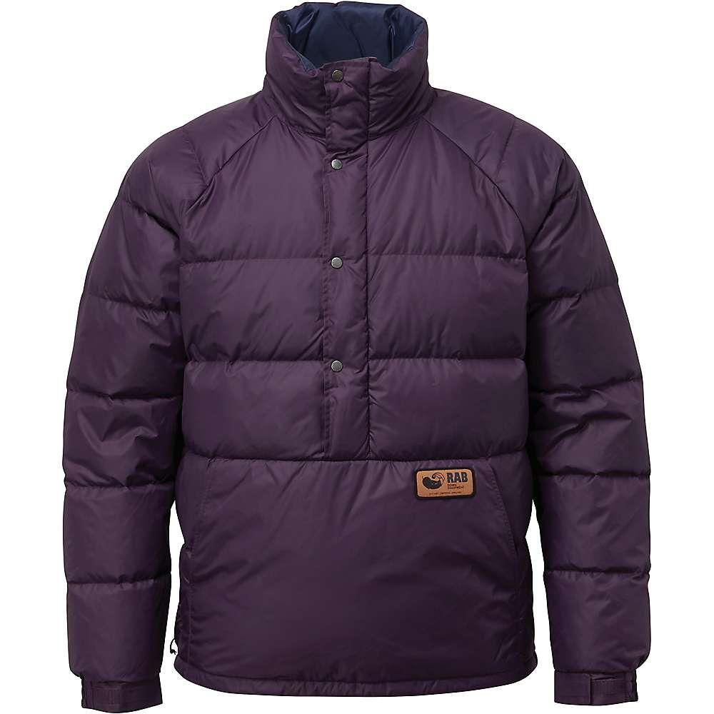 ラブ Rab メンズ ダウン・中綿ジャケット アウター【kinder smock jacket】Purple Quartz
