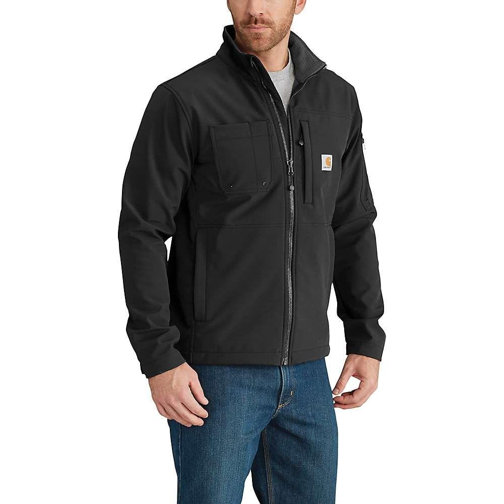カーハート Carhartt メンズ レインコート アウター【rough cut jacket】Black