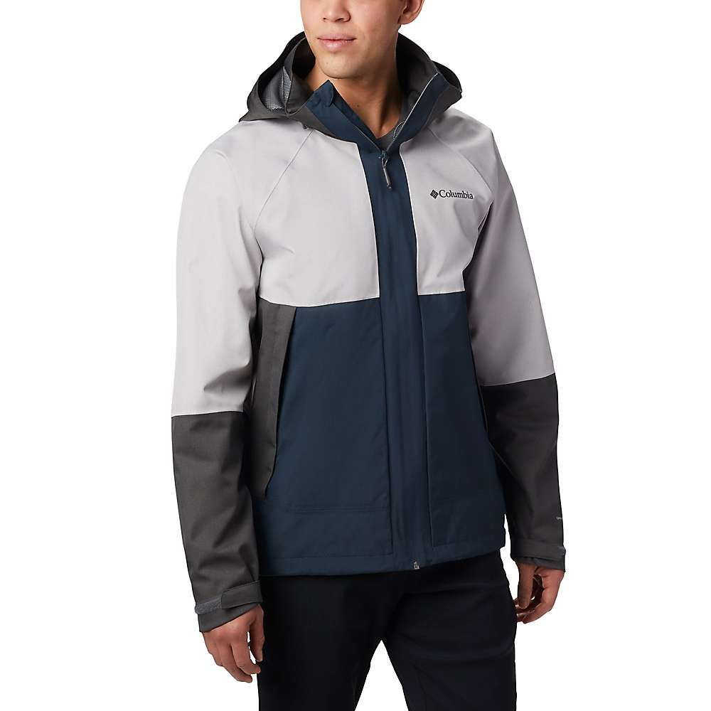 コロンビア Columbia メンズ レインコート アウター【evolution valley jacket】Night Shadow/Columbia Grey Heather