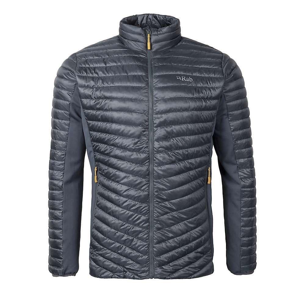 ラブ Rab メンズ ジャケット アウター【cirrus flex jacket】Steel