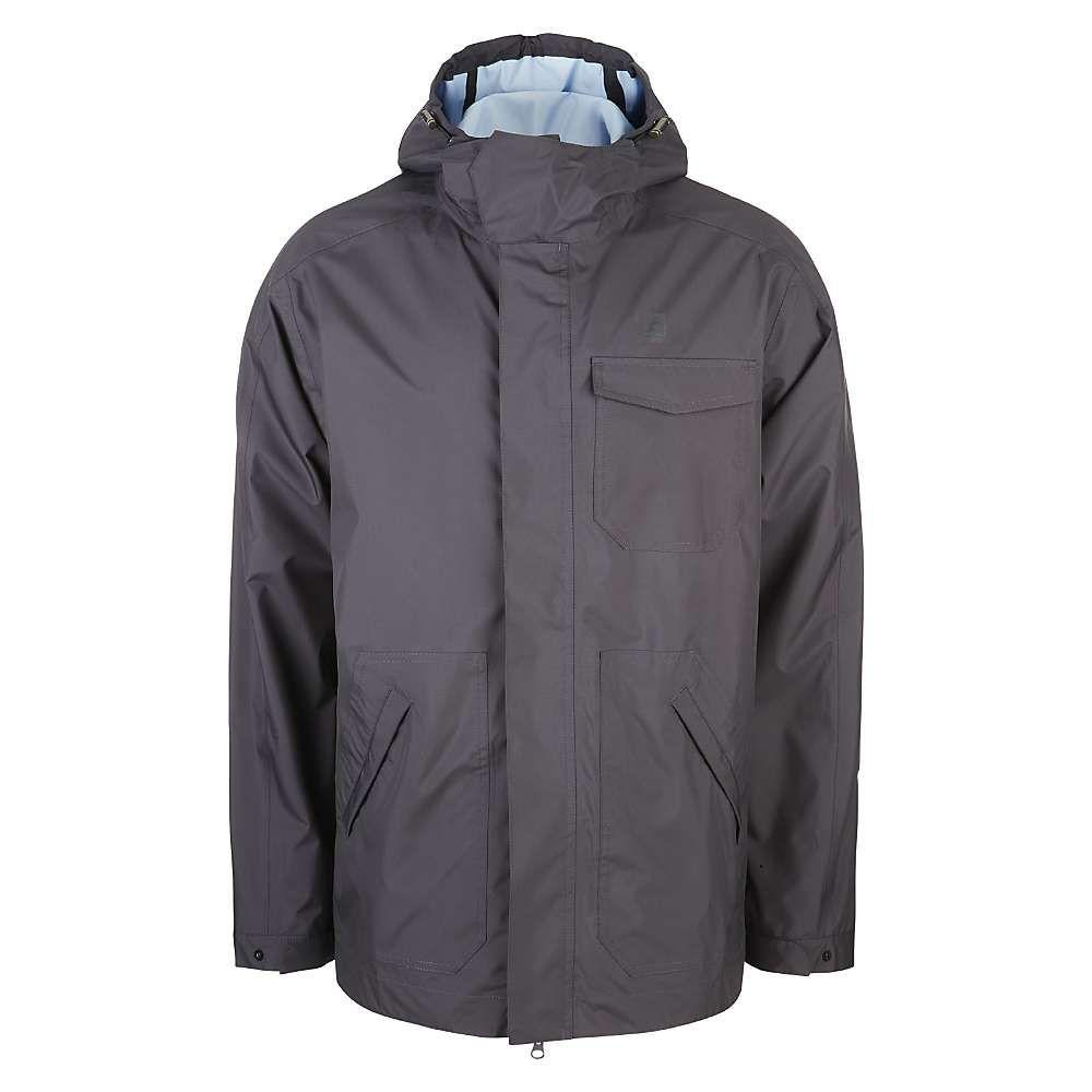 66ノース 66North メンズ レインコート アウター【heidmork jacket】Stone Grey
