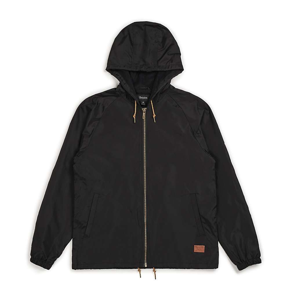 ブリクストン Brixton メンズ ジャケット ウィンドブレーカー アウター【claxton windbreaker jacket】Black