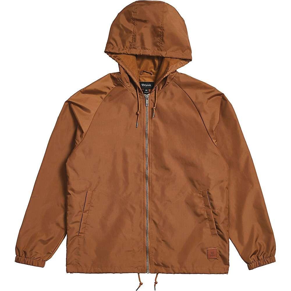 ブリクストン Brixton メンズ ジャケット ウィンドブレーカー アウター【claxton windbreaker jacket】Bison