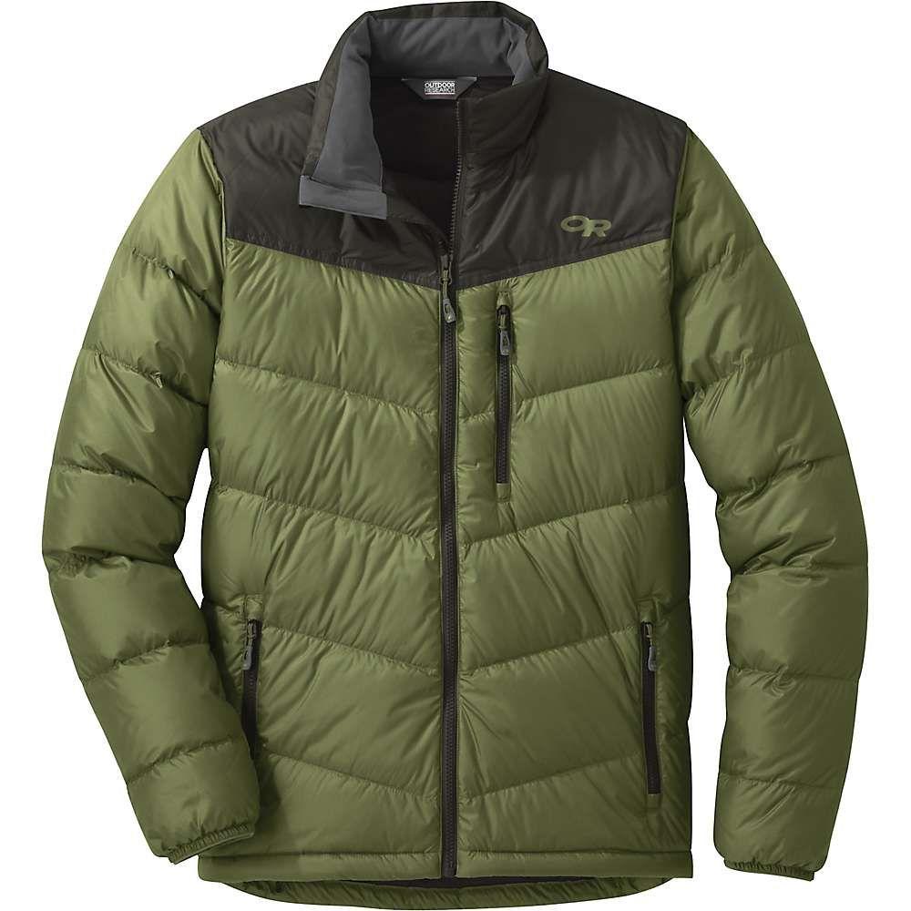 アウトドアリサーチ Outdoor Research メンズ ダウン・中綿ジャケット アウター【transcendent down jacket】Seaweed/Forest