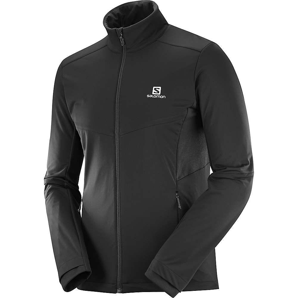 サロモン Salomon メンズ ジャケット アウター【agile warm jacket】Black