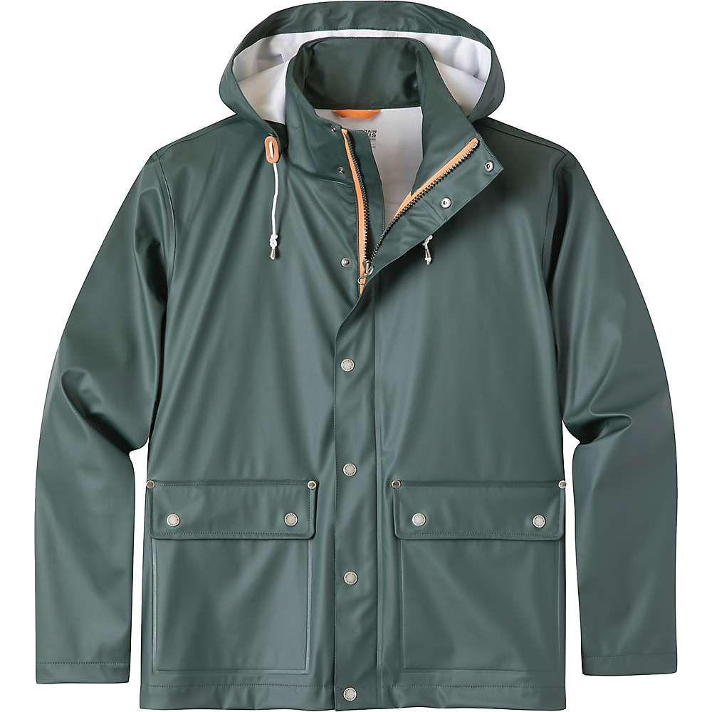 マウンテンカーキス Mountain Khakis メンズ レインコート アウター【rainmaker jacket】Wintergreen