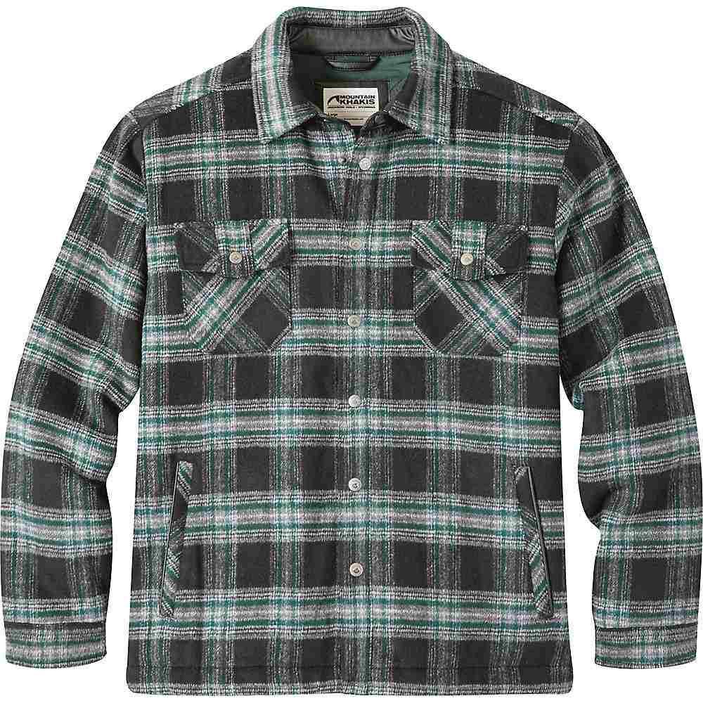 マウンテンカーキス Mountain Khakis メンズ ジャケット アウター【sportsman's shirt jac】Black Plaid