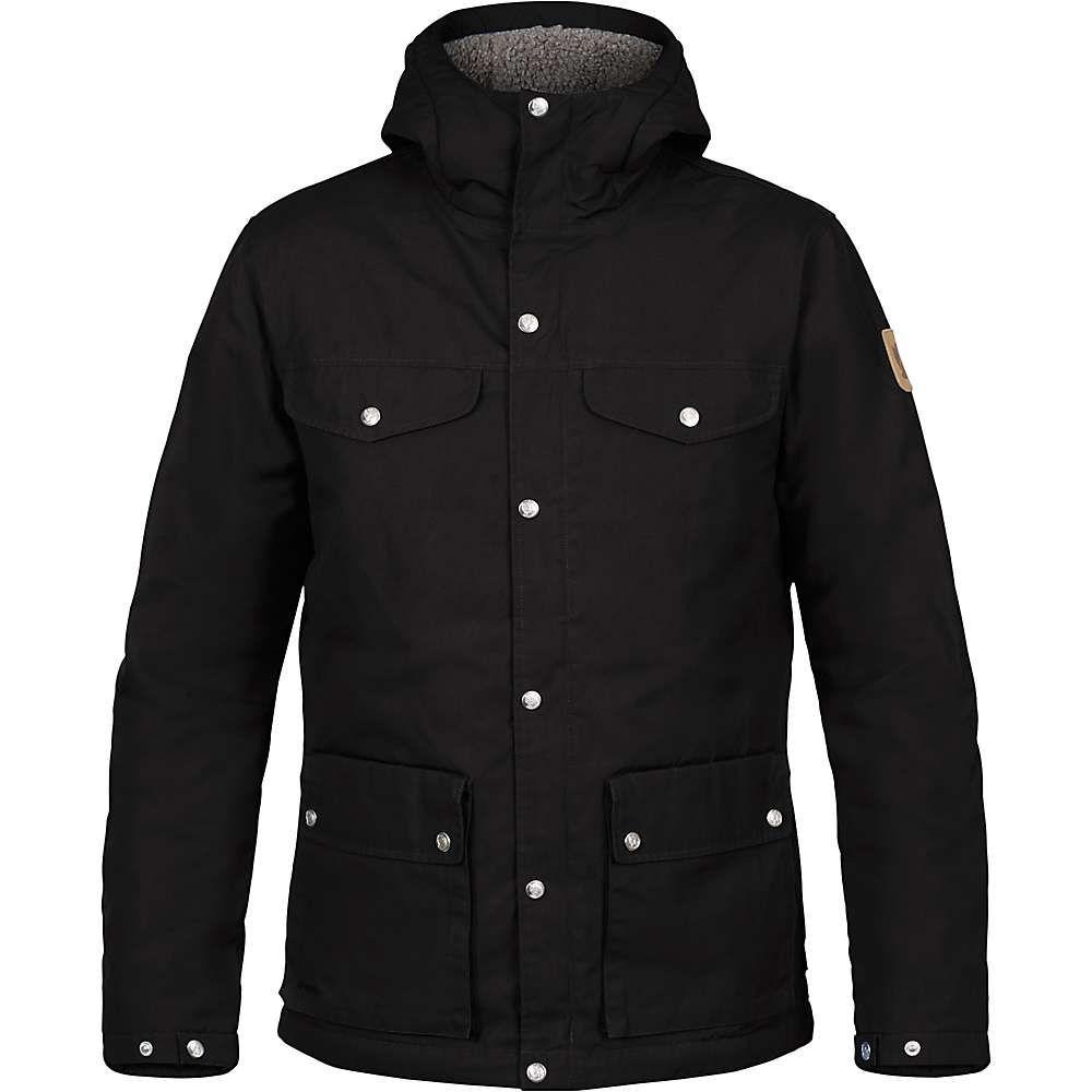 フェールラーベン Fjallraven メンズ ジャケット アウター【greenland winter jacket】Black