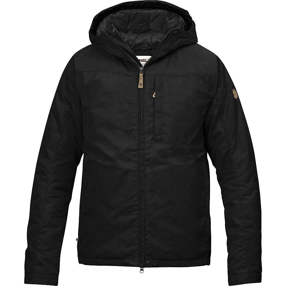 フェールラーベン Fjallraven メンズ ダウン・中綿ジャケット アウター【kiruna padded jacket】Black