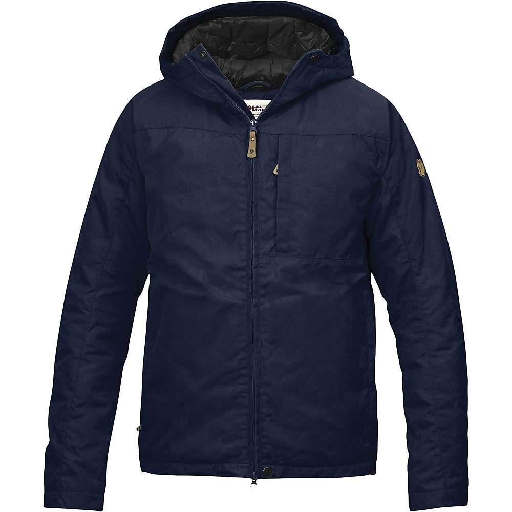 フェールラーベン Fjallraven メンズ ダウン・中綿ジャケット アウター【kiruna padded jacket】Dark Navy