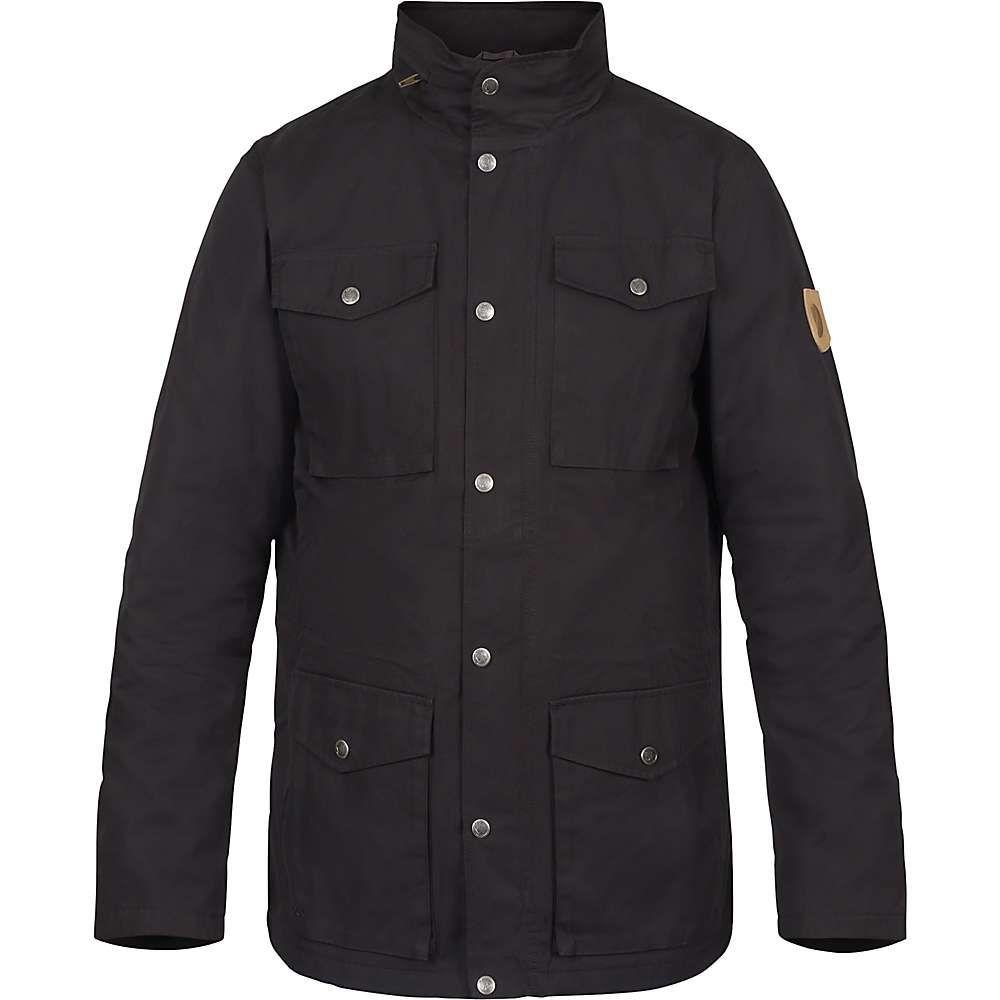 フェールラーベン Fjallraven メンズ ダウン・中綿ジャケット アウター【raven padded jacket】Black