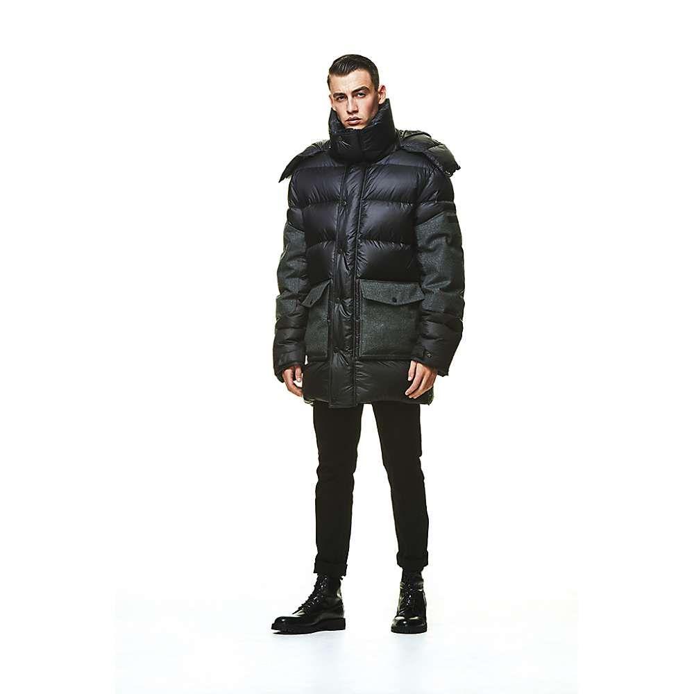 ジャックウルフスキン Jack Wolfskin Tech Lab メンズ ダウン・中綿ジャケット アウター【dolomites coat】Phantom