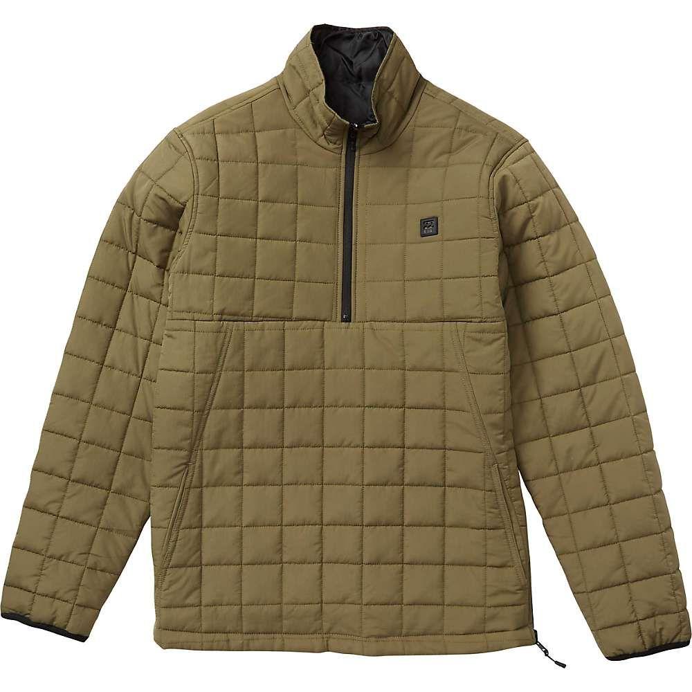 ビラボン Billabong メンズ ダウン・中綿ジャケット アウター【boundary reversible puffer jacket】Military
