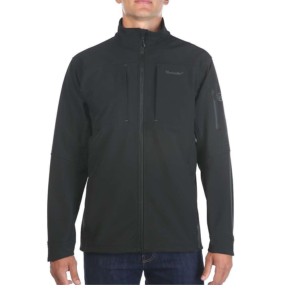 ムースジョー Moosejaw メンズ ジャケット ソフトシェルジャケット アウター【harper softshell jacket】Black