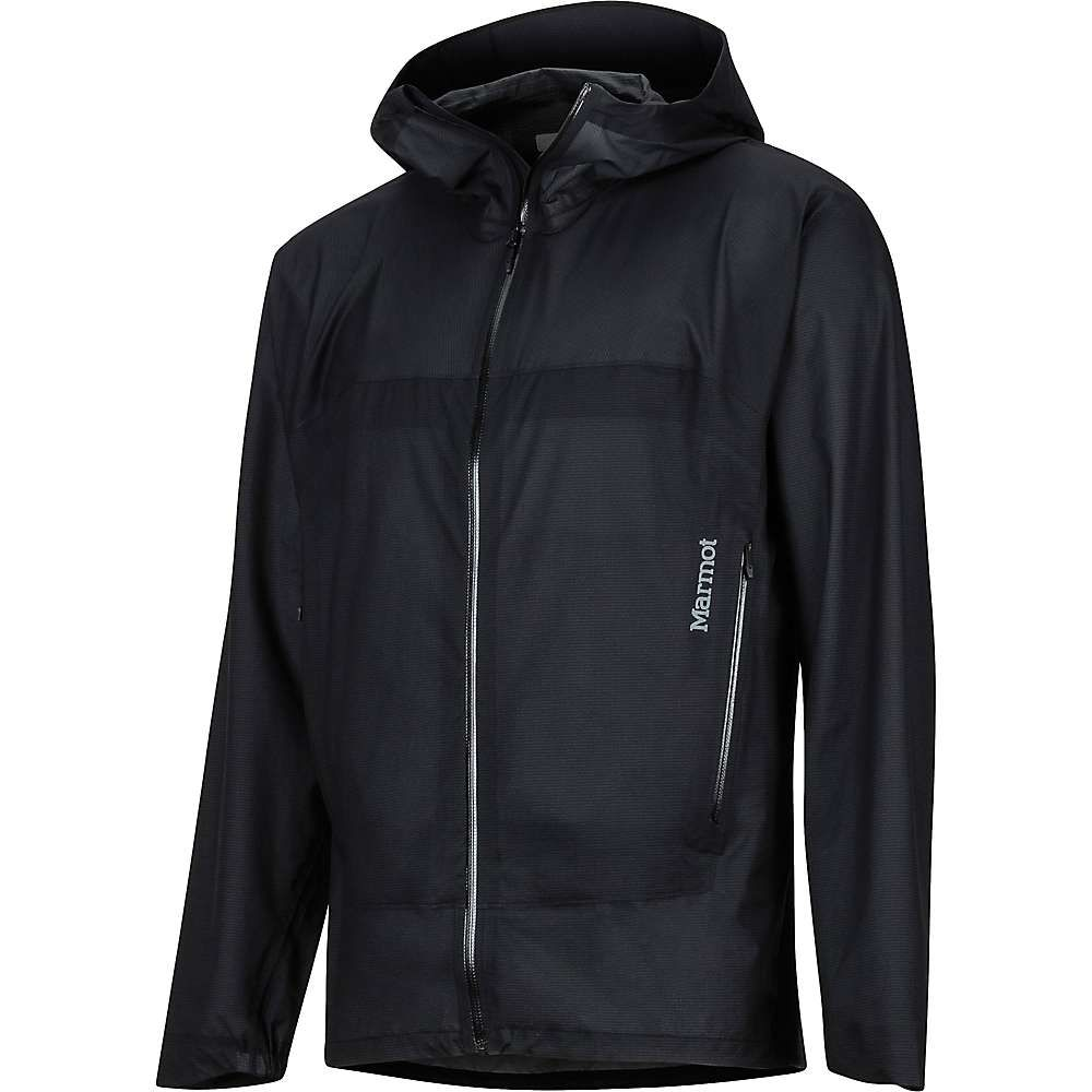 マーモット Marmot メンズ レインコート アウター【bantamweight jacket】Black