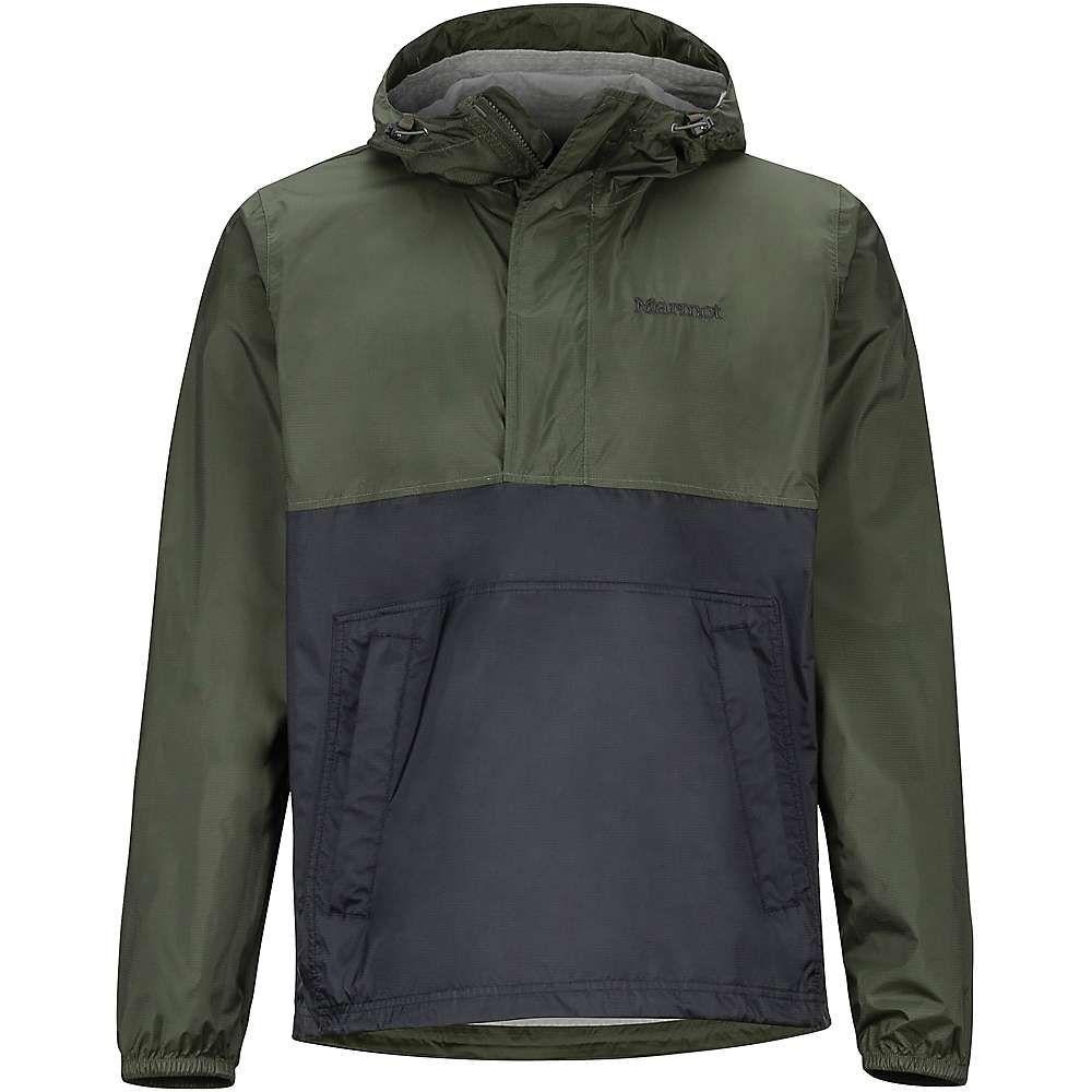 マーモット Marmot メンズ ジャケット アノラック アウター【precip eco anorak】Rosin Green/Black