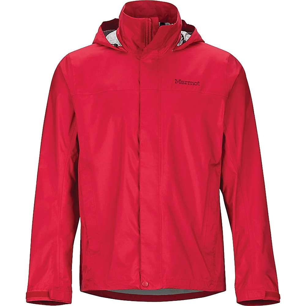 マーモット Marmot メンズ レインコート アウター【precip eco jacket】Team Red