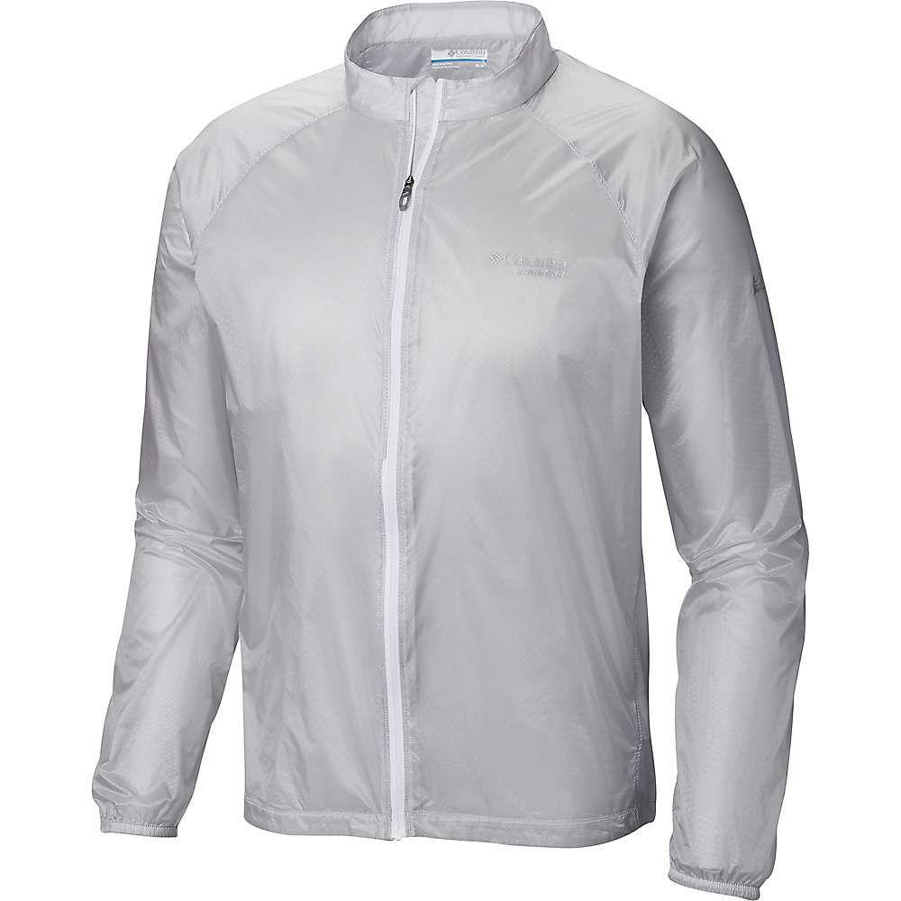 コロンビア Columbia メンズ ジャケット ウィンドブレーカー アウター【f.k.t. wind jacket】Cool Grey Embossed Print/White Zip