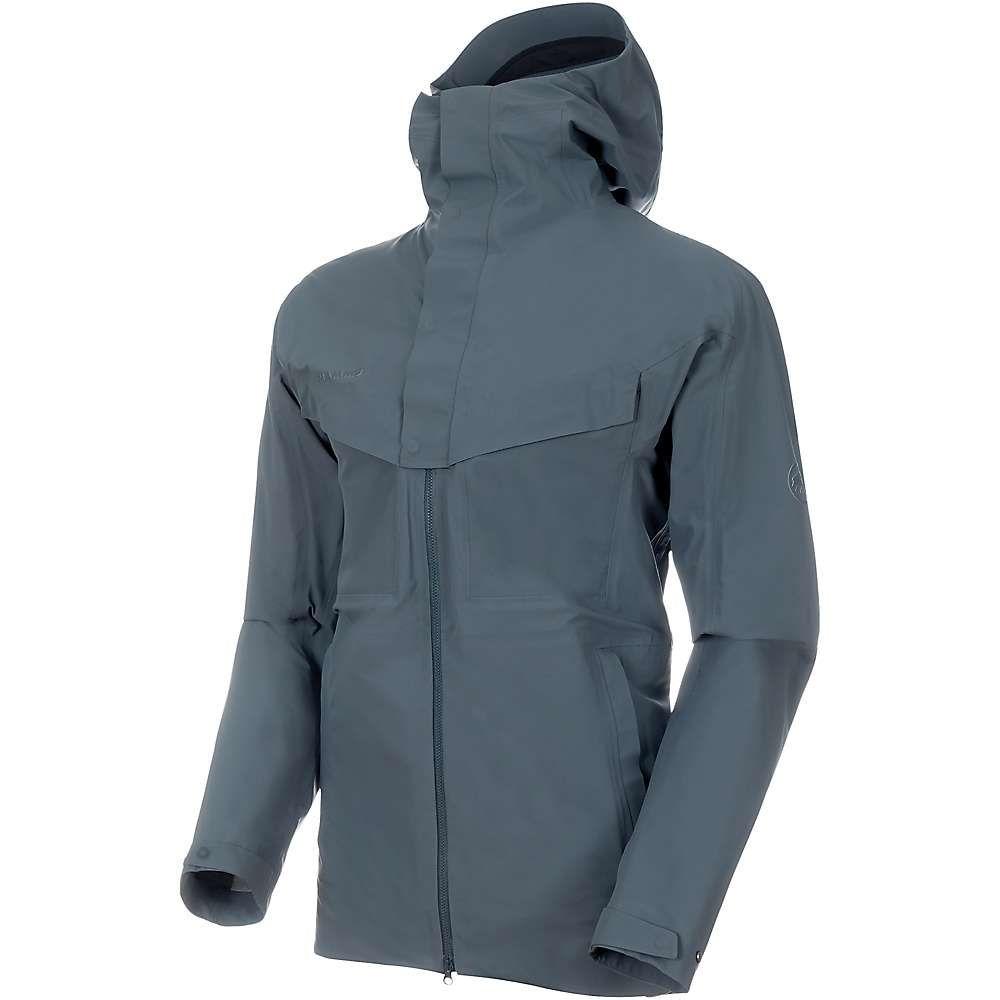 マムート Mammut メンズ レインコート フード ハードシェルジャケット アウター【zinal hardshell hooded jacket】Storm