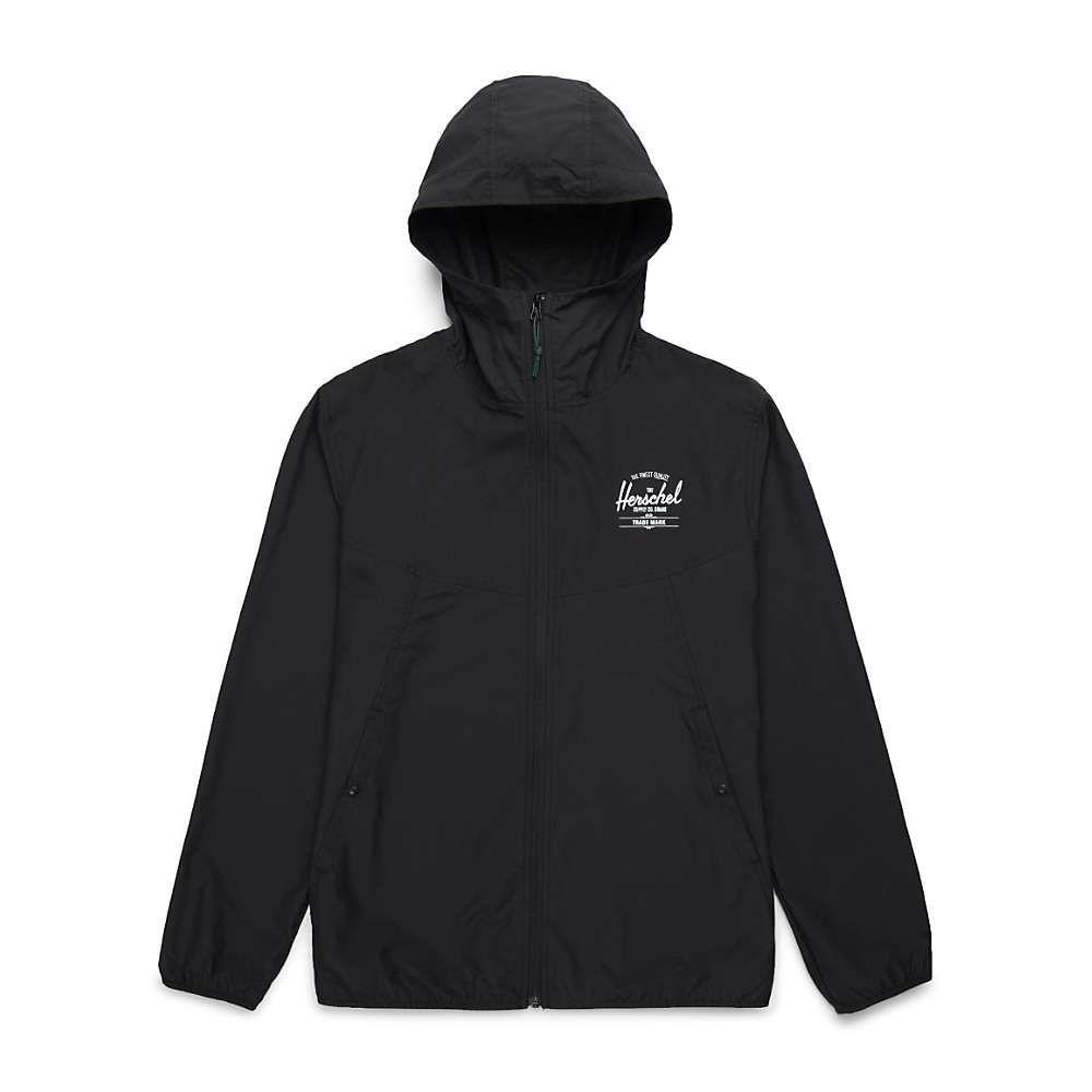 ハーシェル サプライ Herschel Supply Co メンズ ジャケット ウィンドブレーカー アウター【voyage wind jacket】Black/White Classic Logo