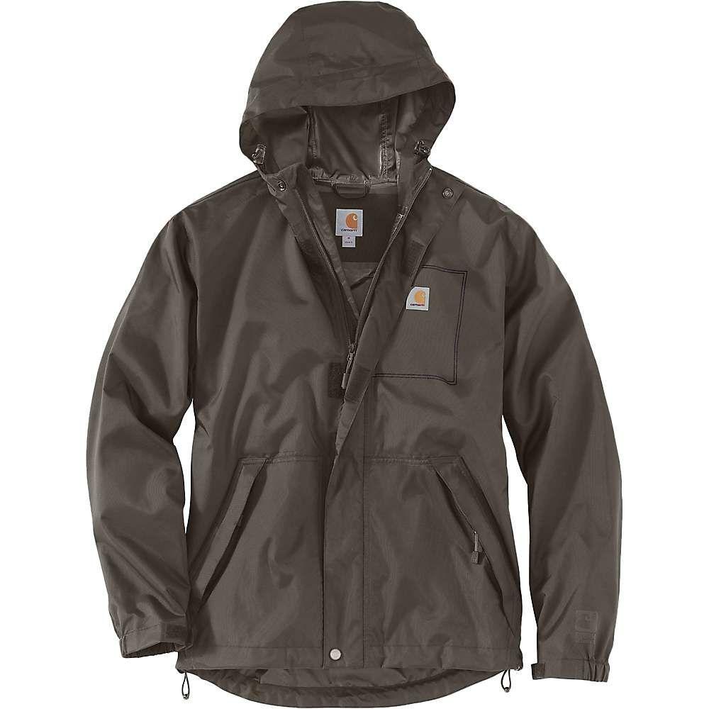 カーハート Carhartt メンズ レインコート アウター【dry harbor jacket】Tarmac