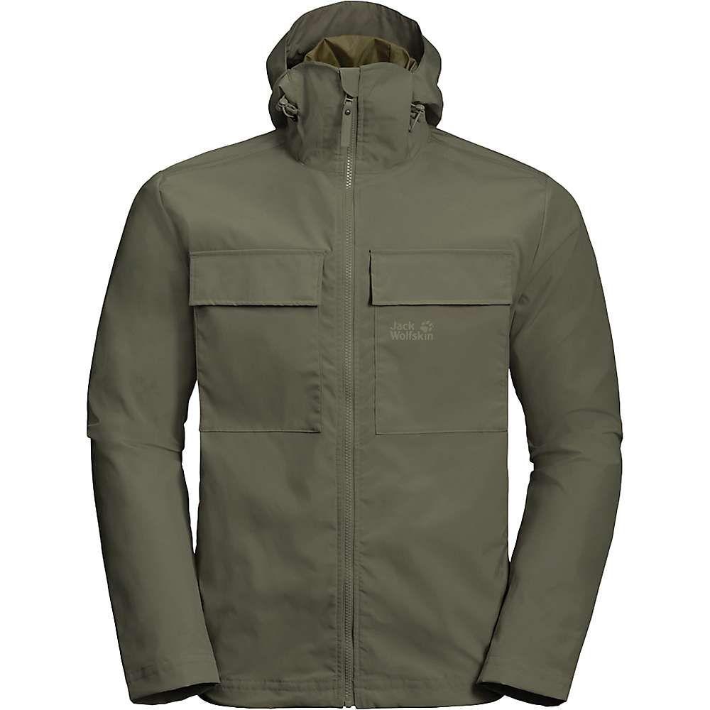 ジャックウルフスキン Jack Wolfskin メンズ ジャケット アウター【summer storm jacket】Woodland Green
