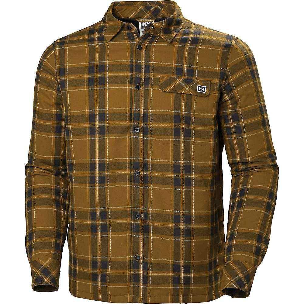 ヘリーハンセン Helly Hansen メンズ ジャケット フランネルシャツ シャツジャケット アウター【lifaloft insulated flannel shirt jacket】Marmalade Plaid