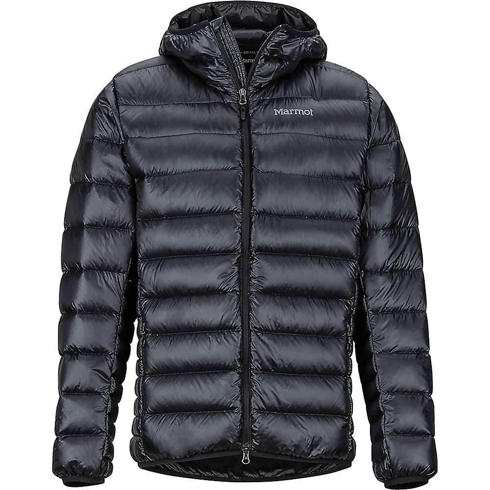マーモット Marmot メンズ ダウン・中綿ジャケット アウター【hype down hoodie】Black