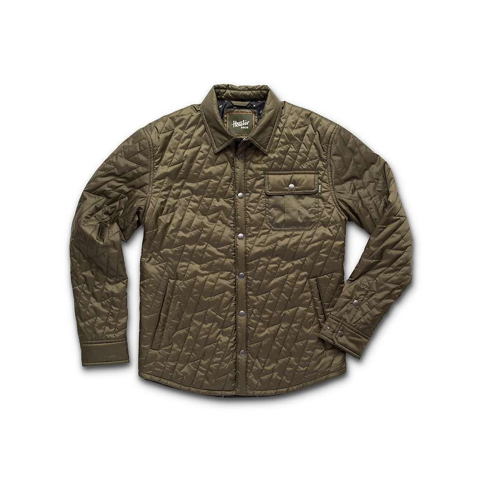 ホウラーブラザーズ Howler Brothers メンズ ジャケット アウター【lighting quilted jacket】Fatigue