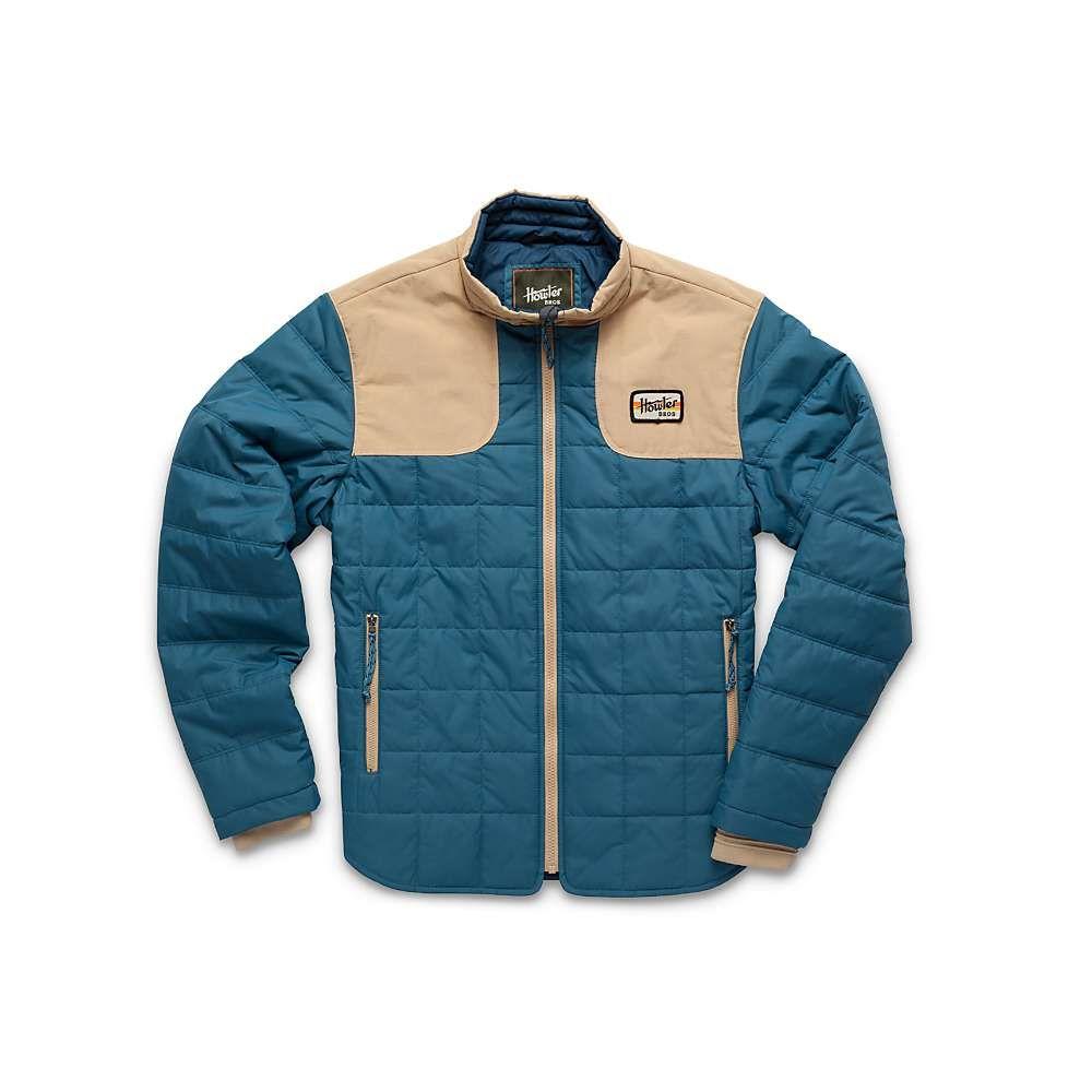 ホウラーブラザーズ Howler Brothers メンズ ジャケット アウター【merlin jacket】Mid Blue/Khaki
