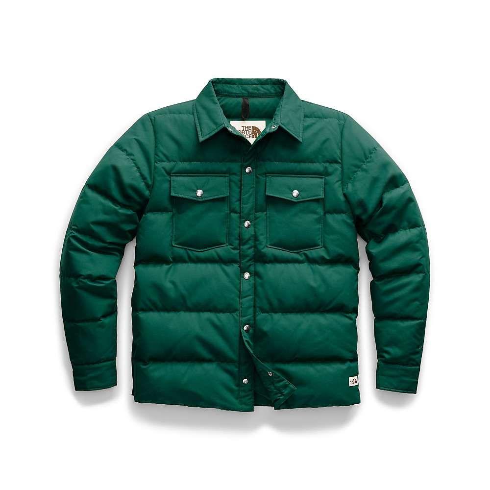 ザ ノースフェイス The North Face メンズ ダウン・中綿ジャケット アウター【down sierra snap jacket】Night Green