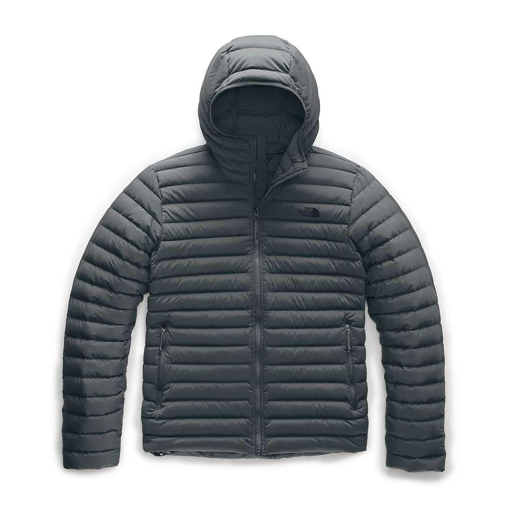 ザ ノースフェイス The North Face メンズ ダウン・中綿ジャケット アウター【stretch down hoodie】Asphalt Grey