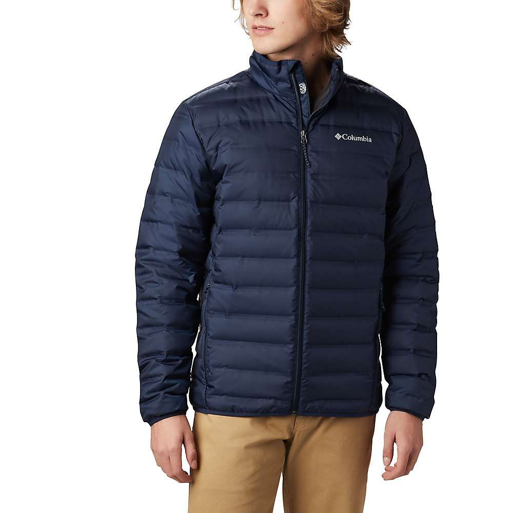 コロンビア Columbia メンズ ダウン・中綿ジャケット アウター【lake 22 down jacket】Collegiate Navy