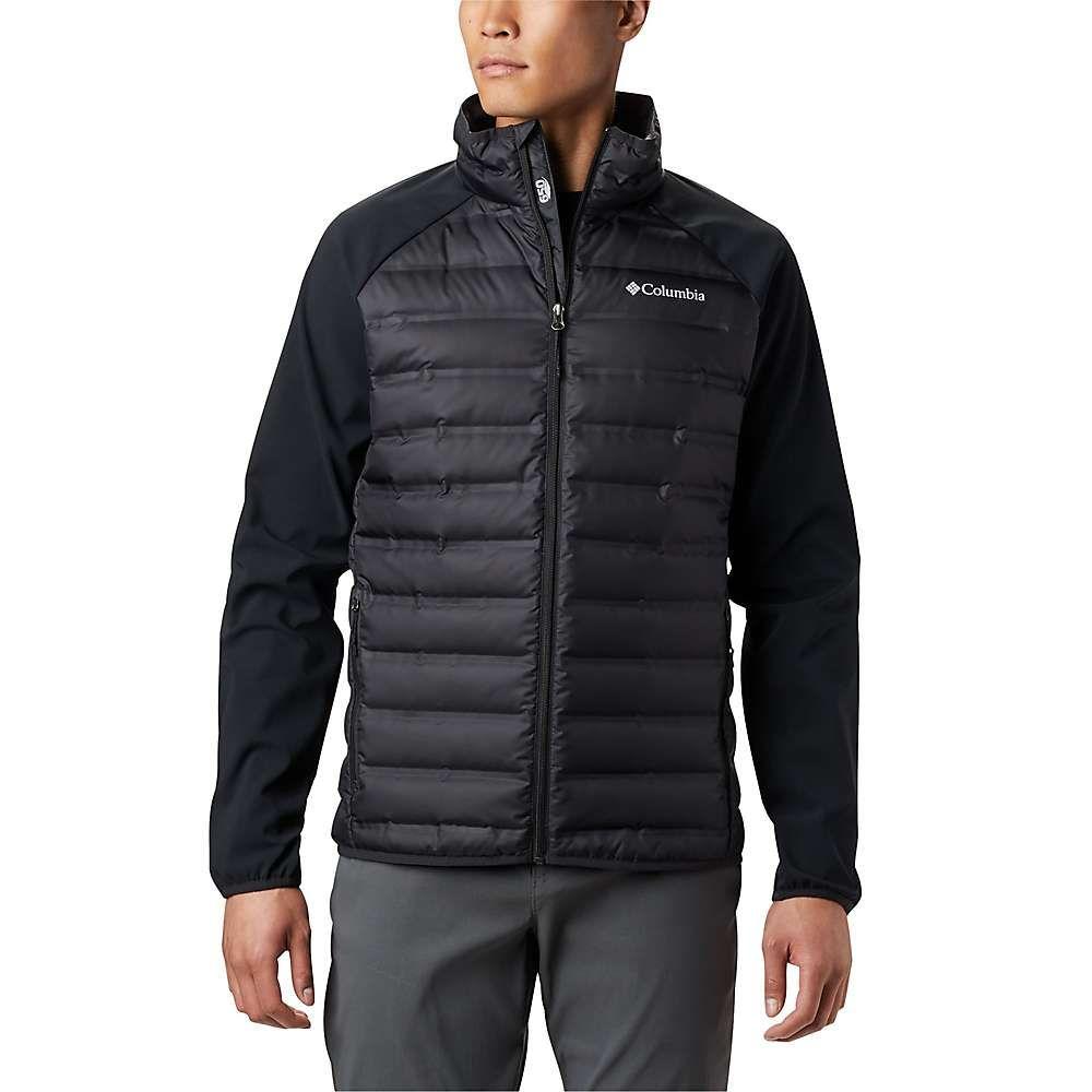コロンビア Columbia メンズ ダウン・中綿ジャケット アウター【lake 22 hybrid down jacket】Black