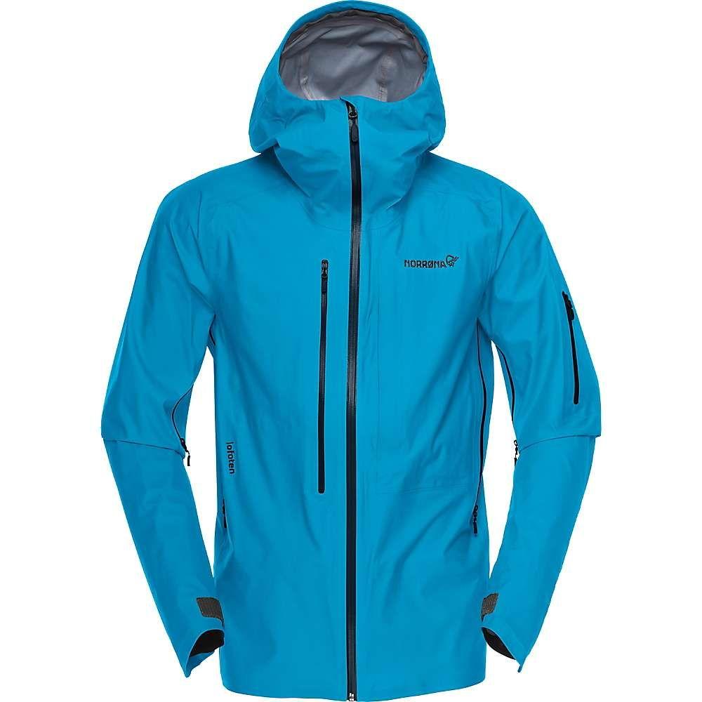 ノローナ メンズ アウター レインコート 激安 Blue Moon lofoten gore-tex マート サイズ交換無料 Norrona active jacket