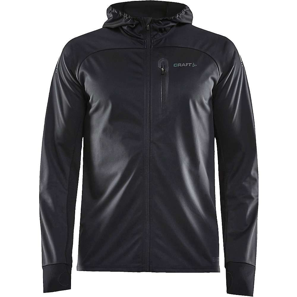 クラフト Craft Sportswear メンズ ジャケット ウィンドブレーカー アウター【craft wind fuseknit jacket】Black