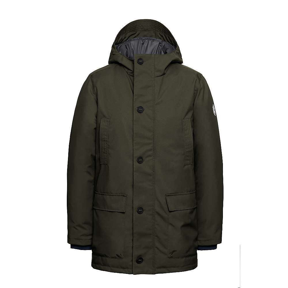 クォーツコー Quartz Co メンズ ダウン・中綿ジャケット アウター【belfort jacket】Military Green