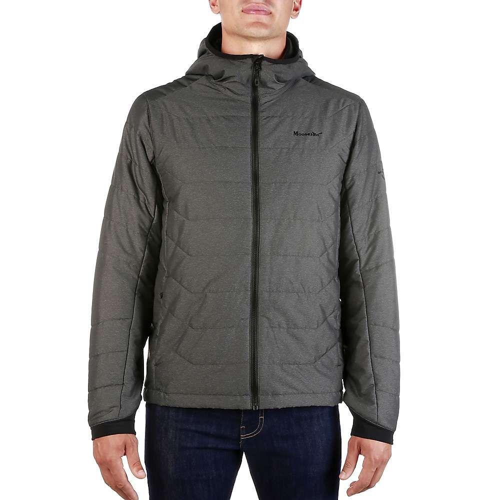 ムースジョー Moosejaw メンズ ジャケット フード アウター【riopelle hooded insulated jacket】Black