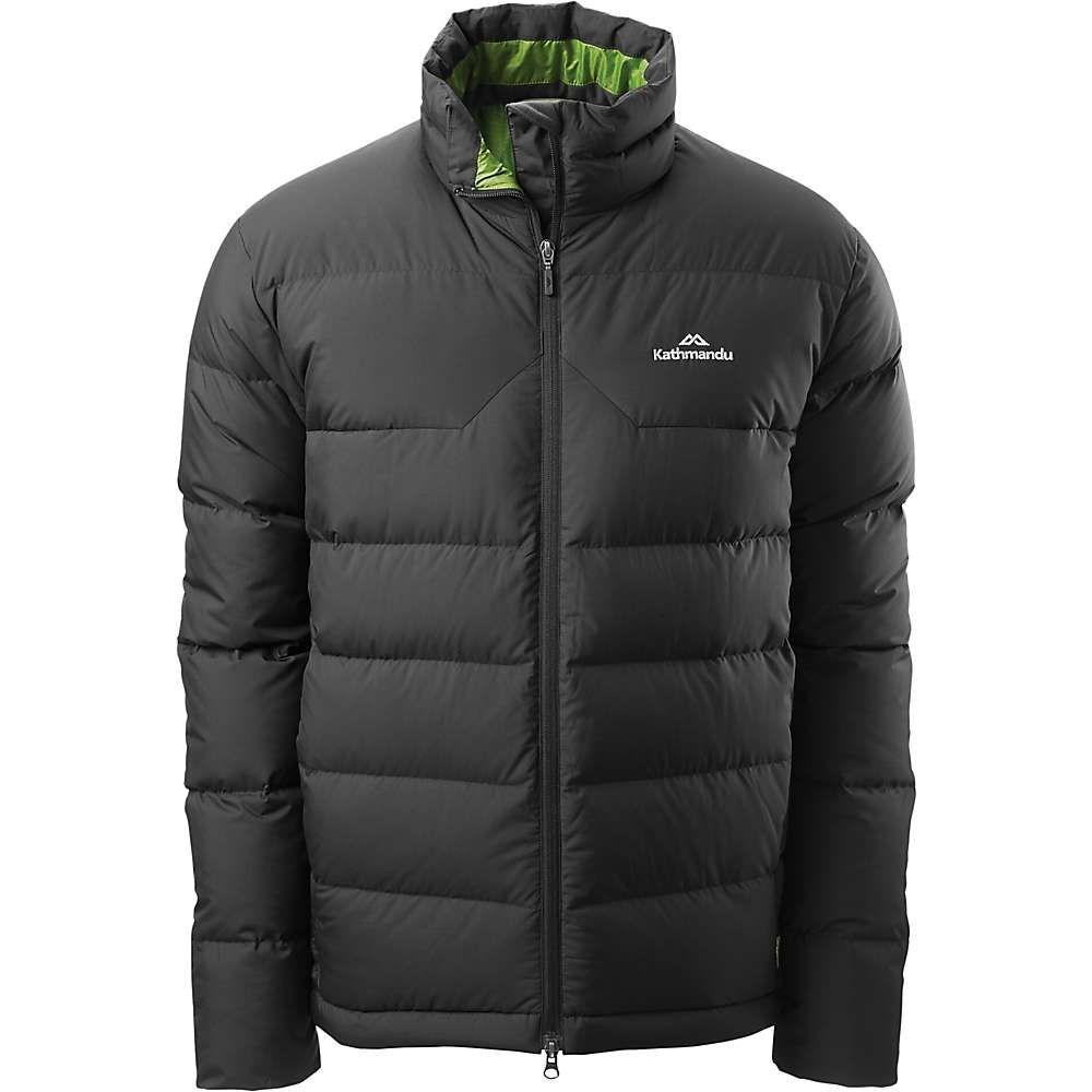 カトマンズ Kathmandu メンズ ダウン・中綿ジャケット アウター【epiq down jacket】Black