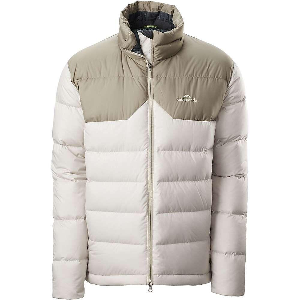カトマンズ Kathmandu メンズ ダウン・中綿ジャケット アウター【epiq down jacket】Pumice/Clay