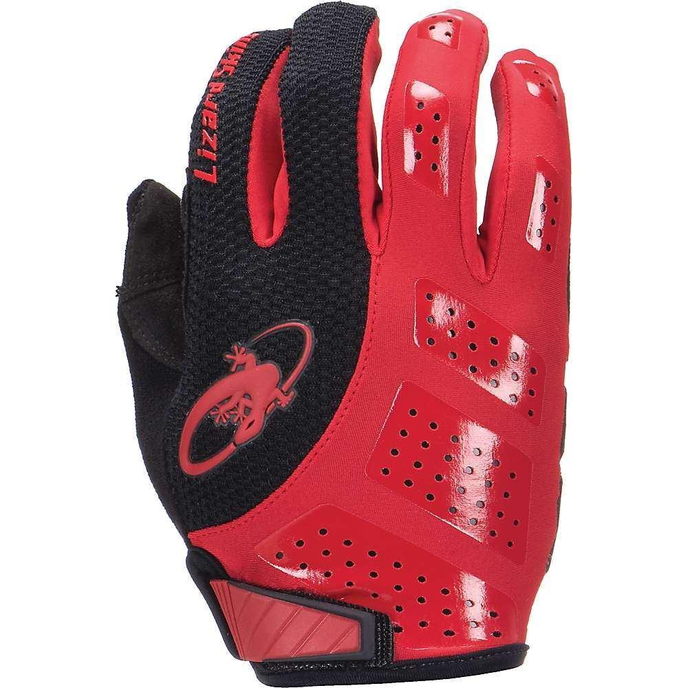 リザード Lizard Skins ユニセックス 自転車 グローブ【monitor sl gel gloves】Crimson/Jet 黒