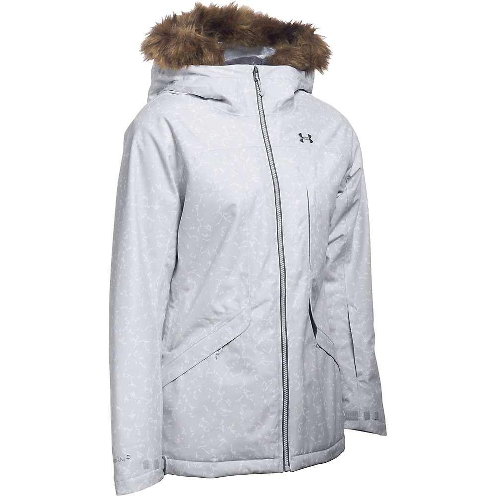 アンダーアーマー Under Armour レディース ジャケット アウター【coldgear infrared kymera jacket】Glacier Grey/Steel