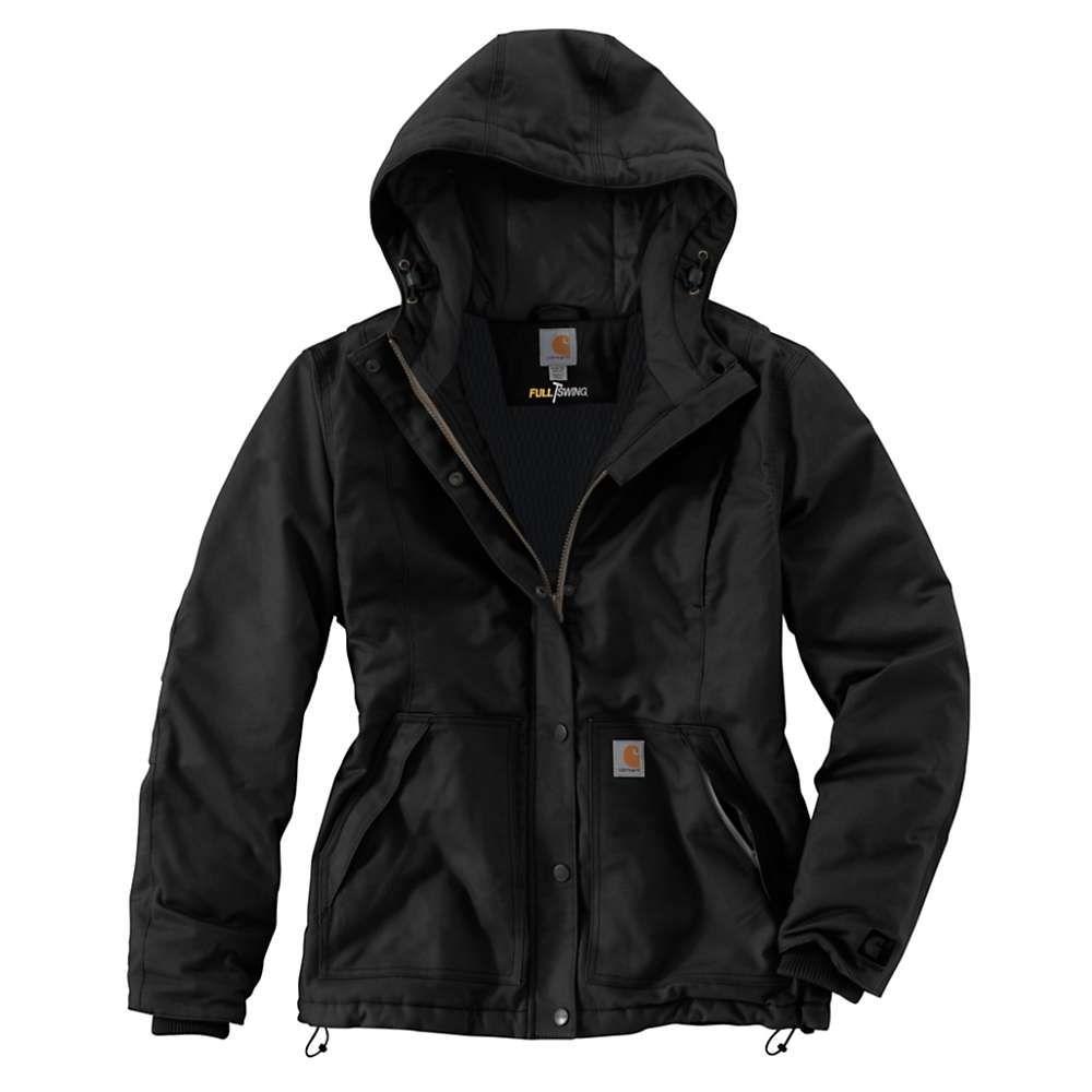 カーハート Carhartt レディース ジャケット アウター【full swing cryder jacket】Black