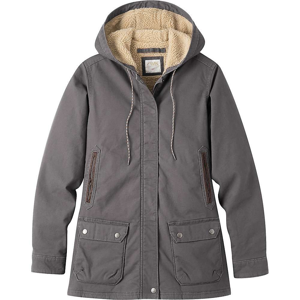 マウンテンカーキス Mountain Khakis レディース ジャケット フード シアリング アウター【ranch shearling hooded jacket】Slate