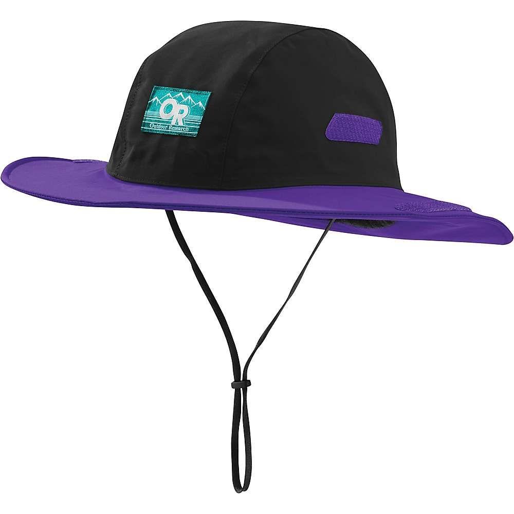 アウトドアリサーチ Outdoor Research ユニセックス ハット ソンブレロ 帽子【retro seattle sombrero】Black/Purple Rain