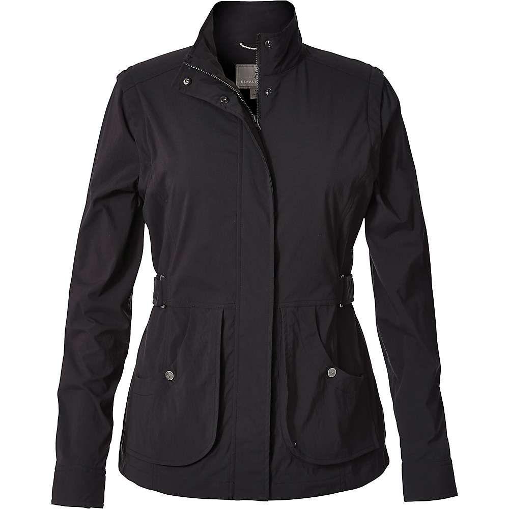ロイヤルロビンズ Royal Robbins レディース ジャケット アウター【discovery convertible jacket】Jet Black