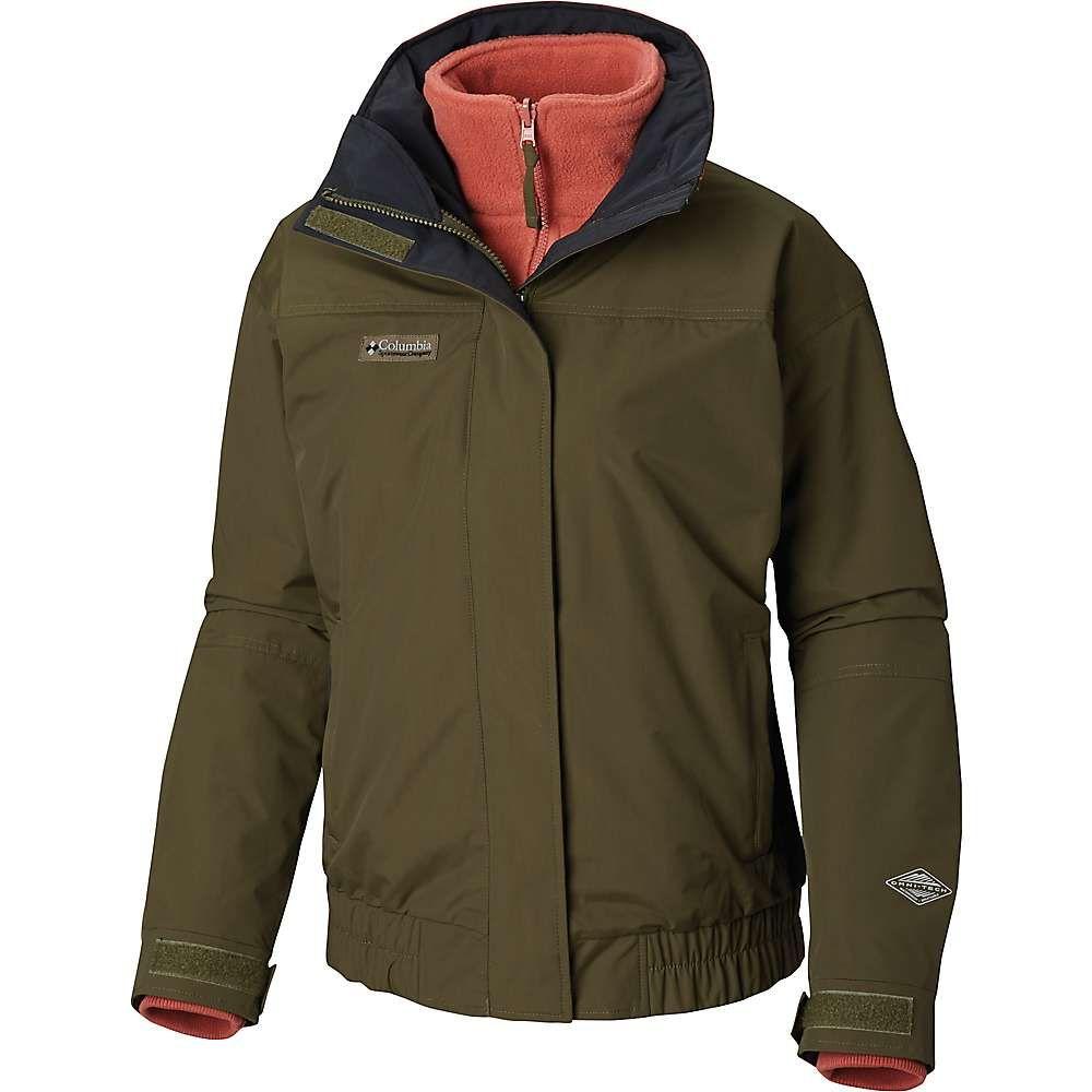 コロンビア Columbia レディース ジャケット アウター【bugaboo 1986 interchange jacket】Peatmoss/Black