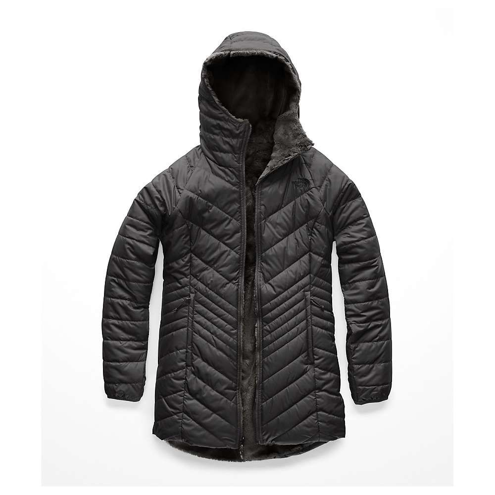 ザ ノースフェイス The North Face レディース コート アウター【mossbud insulated reversible parka】Asphalt Grey