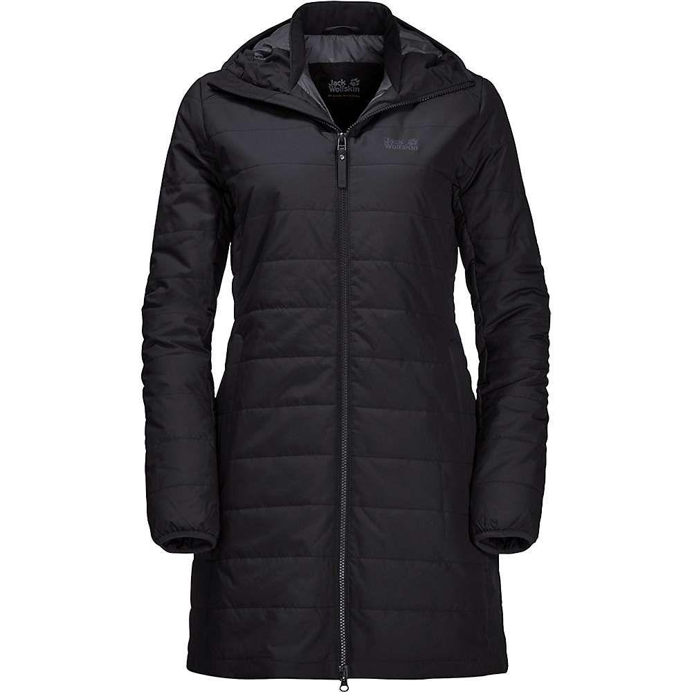 ジャックウルフスキン Jack Wolfskin レディース コート アウター【maryland coat】Black