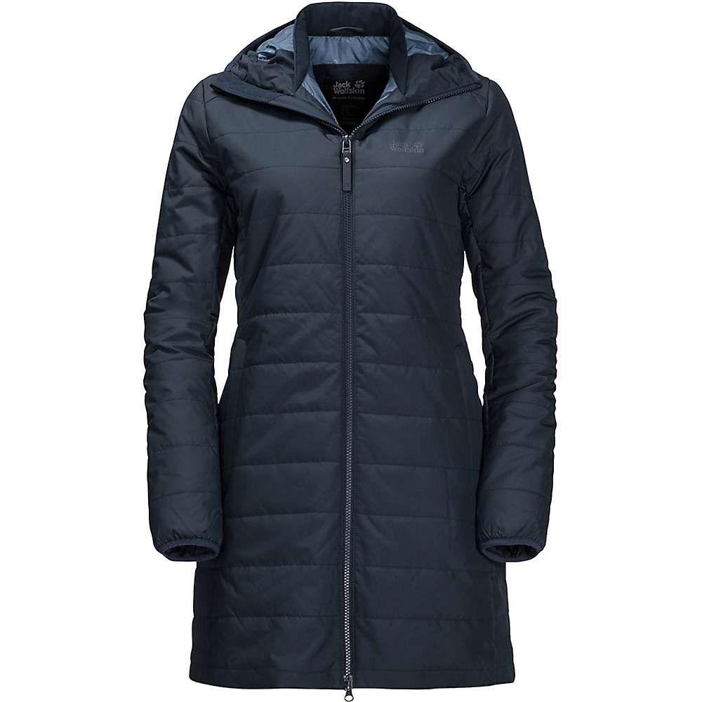 ジャックウルフスキン Jack Wolfskin レディース コート アウター【maryland coat】Midnight Blue